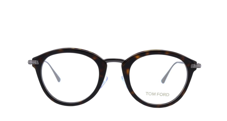 トムフォード FT5497-052-48 [丸メガネ/べっ甲柄]