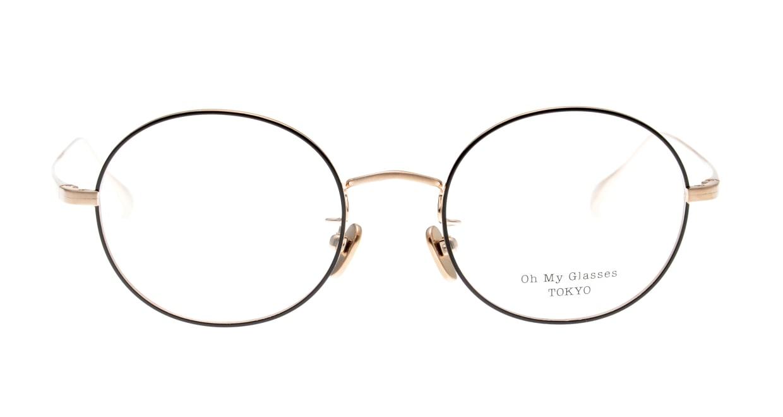 Oh My Glasses TOKYO Lia omg-088-BKG-48 [メタル/鯖江産/丸メガネ]