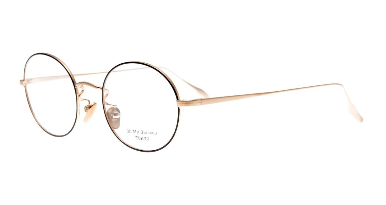 Oh My Glasses TOKYO Lia omg-088-BKG-48 [メタル/鯖江産/丸メガネ]  1