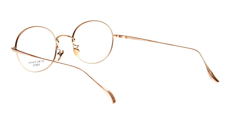 Oh My Glasses TOKYO Lia omg-088-BKG-48 [メタル/鯖江産/丸メガネ]  3