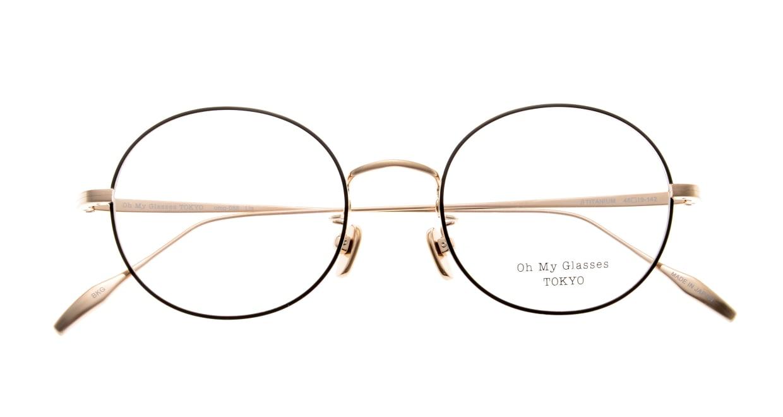 Oh My Glasses TOKYO Lia omg-088-BKG-48 [メタル/鯖江産/丸メガネ]  4