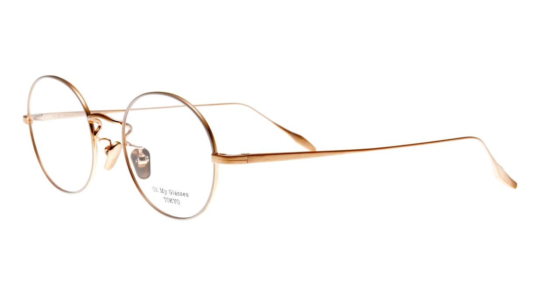 Oh My Glasses TOKYO Lia omg-088-BE-48 [メタル/鯖江産/丸メガネ/白]  1