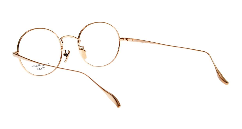 Oh My Glasses TOKYO Lia omg-088-BE-48 [メタル/鯖江産/丸メガネ/白]  3