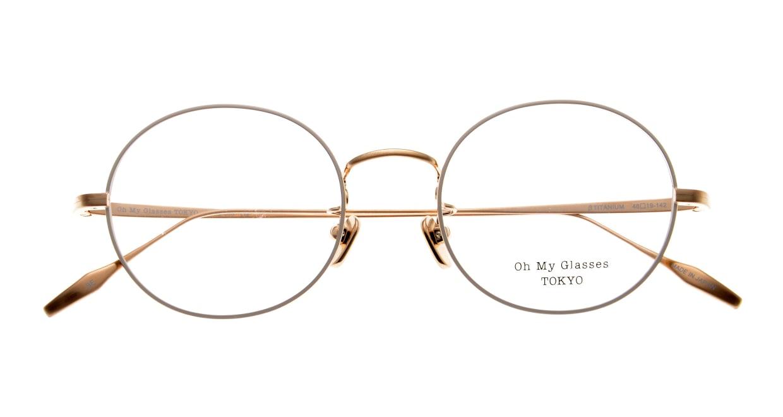 Oh My Glasses TOKYO Lia omg-088-BE-48 [メタル/鯖江産/丸メガネ/白]  4