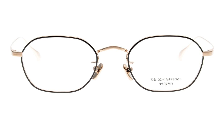 Oh My Glasses TOKYO Reggie omg-089-BKG-47 [メタル/鯖江産/スクエア]