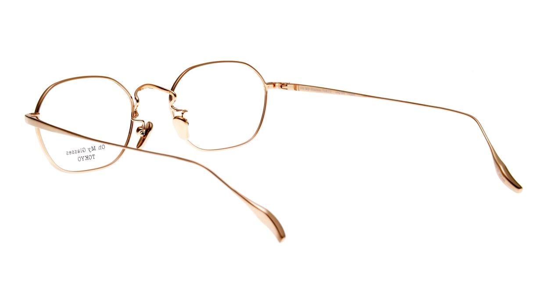Oh My Glasses TOKYO Reggie omg-089-BKG-47 [メタル/鯖江産/スクエア]  3