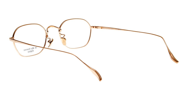 Oh My Glasses TOKYO Reggie omg-089-BE-47 [メタル/鯖江産/スクエア/白]  3