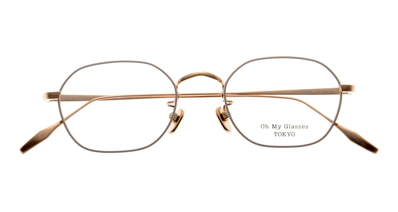 Oh My Glasses TOKYO Reggie omg-089-BE-47 [メタル/鯖江産/スクエア/白]  4