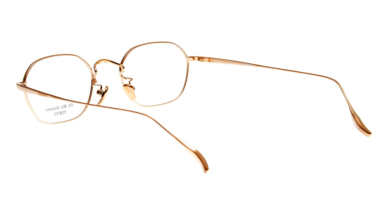 Oh My Glasses TOKYO Reggie omg-089-GR-47 [メタル/鯖江産/スクエア/緑]  3