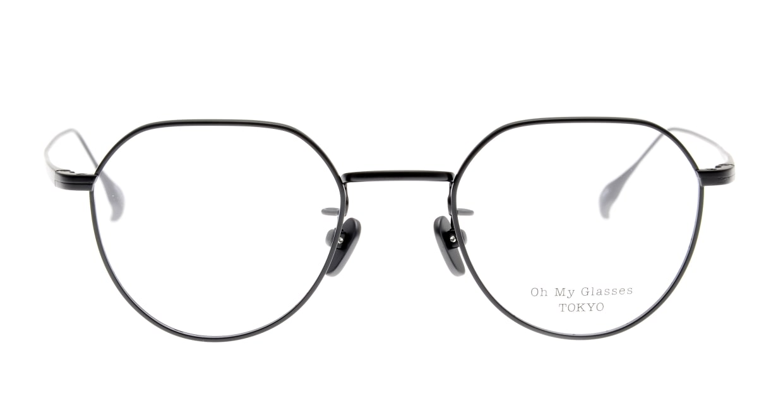 Oh My Glasses TOKYO Barry omg105-BKM-46 [メタル/鯖江産/丸メガネ]