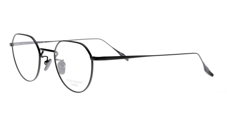 Oh My Glasses TOKYO Barry omg105-BKM-46 [メタル/鯖江産/丸メガネ]  1