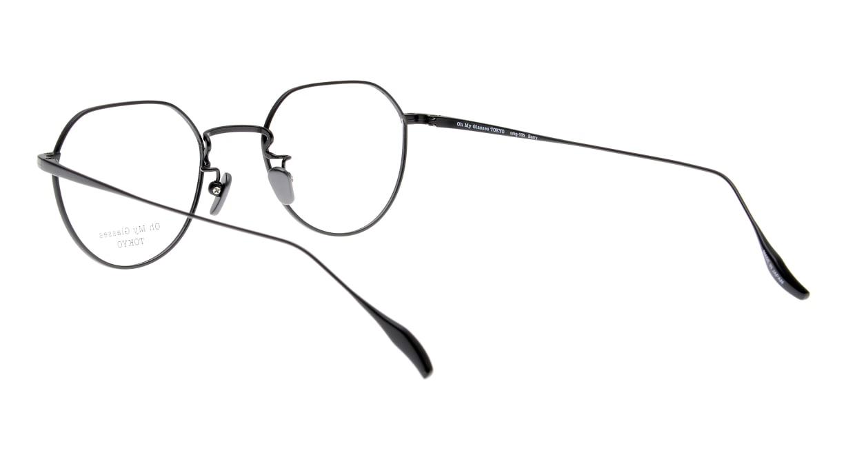Oh My Glasses TOKYO Barry omg105-BKM-46 [メタル/鯖江産/丸メガネ]  3