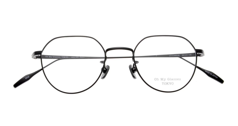 Oh My Glasses TOKYO Barry omg105-BKM-46 [メタル/鯖江産/丸メガネ]  4