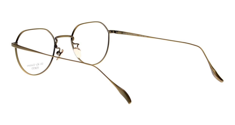 Oh My Glasses TOKYO Barry omg105-ATG-46 [メタル/鯖江産/丸メガネ/ゴールド]  3