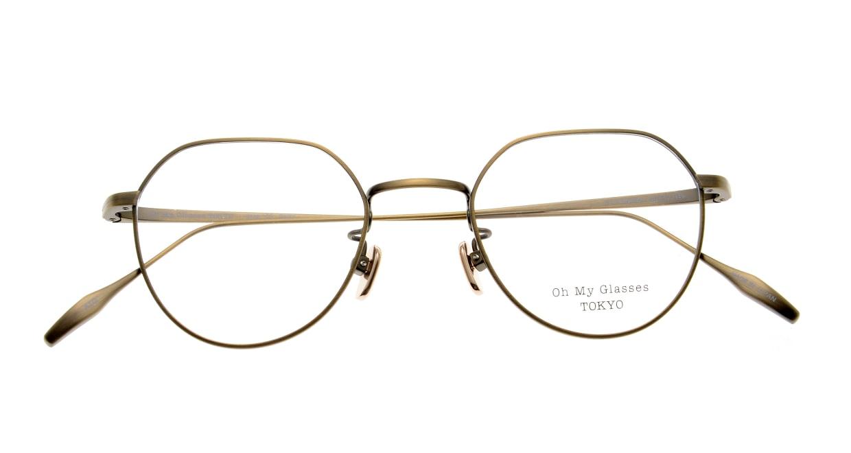 Oh My Glasses TOKYO Barry omg105-ATG-46 [メタル/鯖江産/丸メガネ/ゴールド]  4