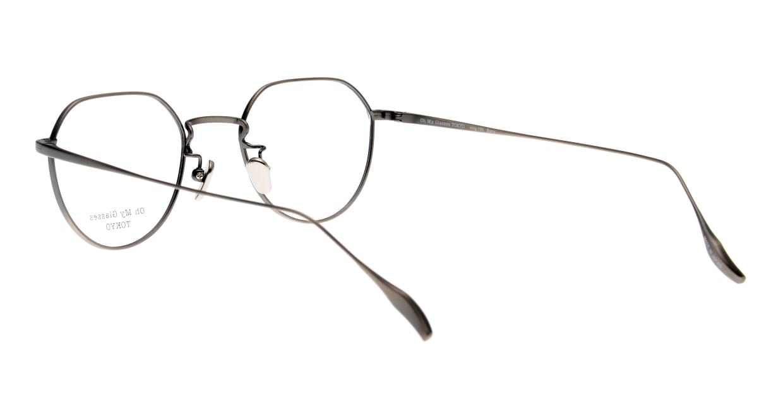 Oh My Glasses TOKYO Barry omg105-ATS-46 [メタル/鯖江産/丸メガネ/シルバー]  3