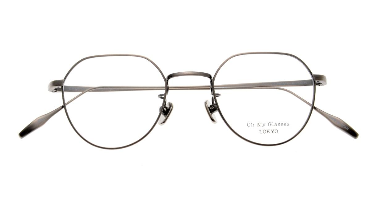 Oh My Glasses TOKYO Barry omg105-ATS-46 [メタル/鯖江産/丸メガネ/シルバー]  4