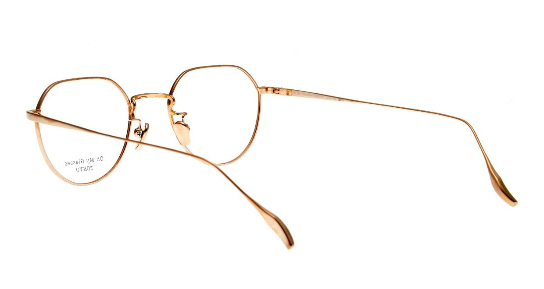 Oh My Glasses TOKYO Barry omg105-DM-46 [メタル/鯖江産/丸メガネ/べっ甲柄]  3
