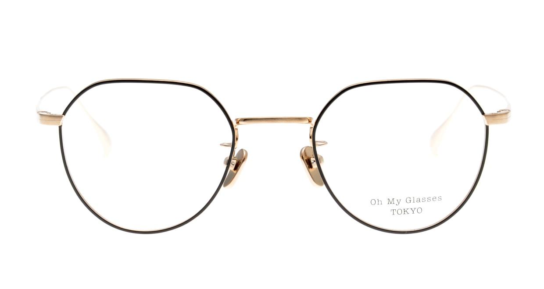 Oh My Glasses TOKYO Barry omg105-BKG-46 [メタル/鯖江産/丸メガネ]