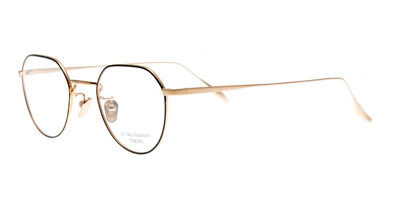 Oh My Glasses TOKYO Barry omg105-BKG-46 [メタル/鯖江産/丸メガネ]  1