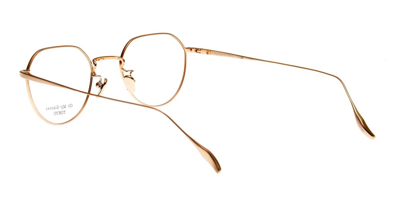 Oh My Glasses TOKYO Barry omg105-BKG-46 [メタル/鯖江産/丸メガネ]  3