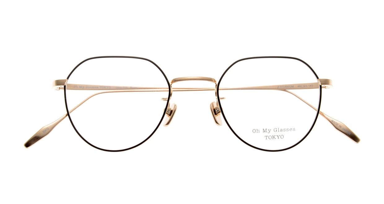 Oh My Glasses TOKYO Barry omg105-BKG-46 [メタル/鯖江産/丸メガネ]  4