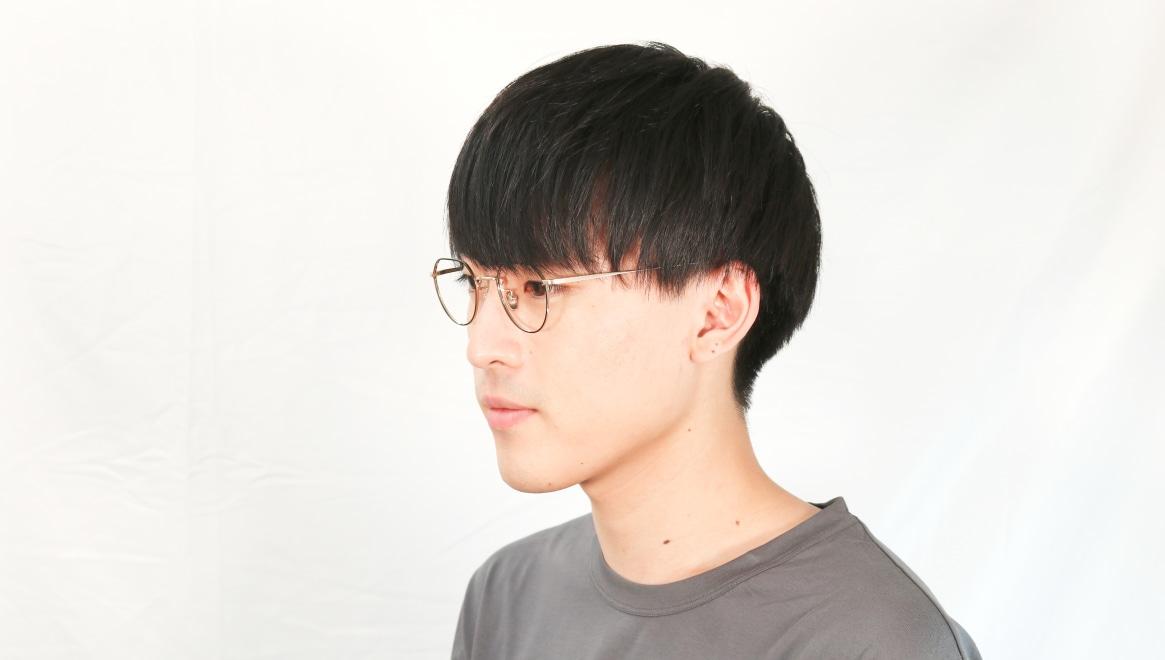 Oh My Glasses TOKYO Barry omg105-BKG-46 [メタル/鯖江産/丸メガネ]  6