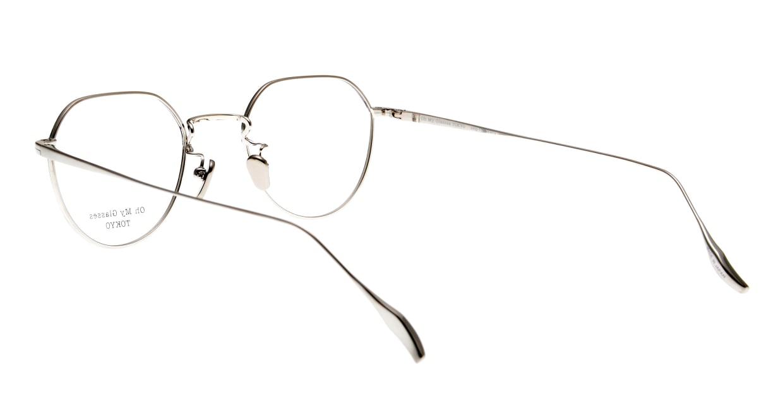 Oh My Glasses TOKYO Barry omg105-NV-46 [メタル/鯖江産/丸メガネ/青]  3