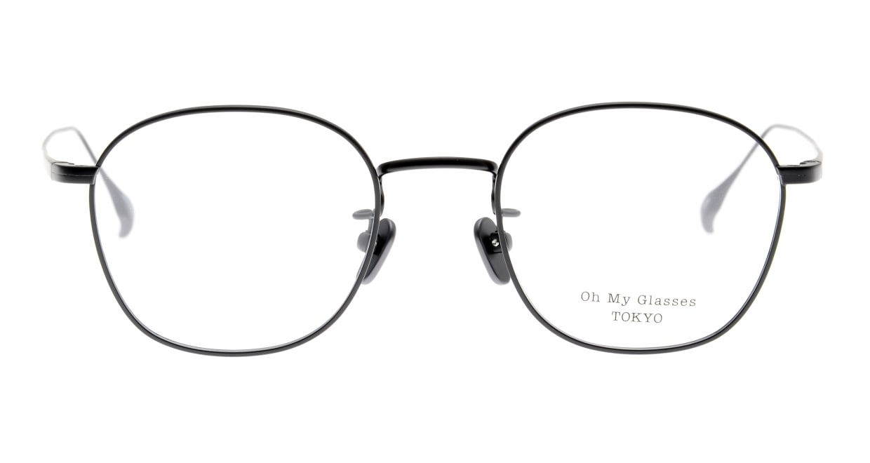 Oh My Glasses TOKYO Curtis omg106-BKM-47 [メタル/鯖江産/ウェリントン]