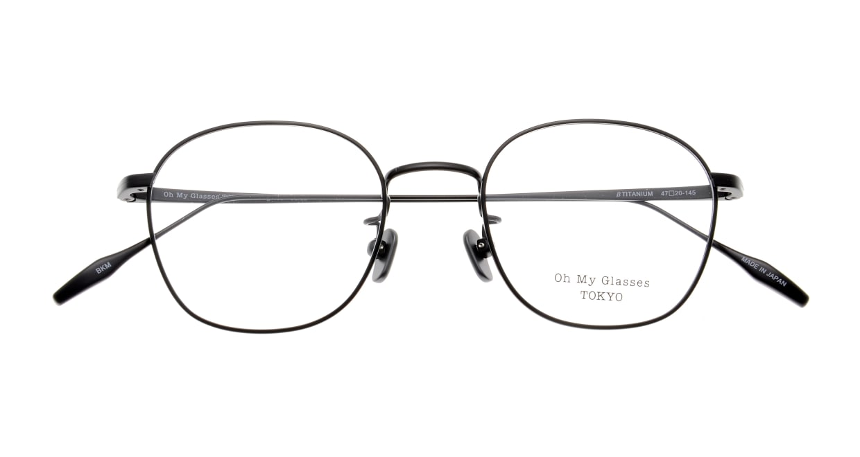Oh My Glasses TOKYO Curtis omg106-BKM-47 [メタル/鯖江産/ウェリントン]  4