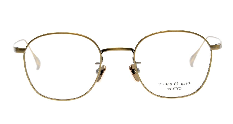 Oh My Glasses TOKYO Curtis omg106-ATG-47 [メタル/鯖江産/ウェリントン/ゴールド]
