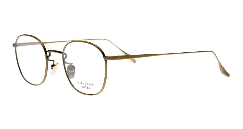 Oh My Glasses TOKYO Curtis omg106-ATG-47 [メタル/鯖江産/ウェリントン/ゴールド]  1