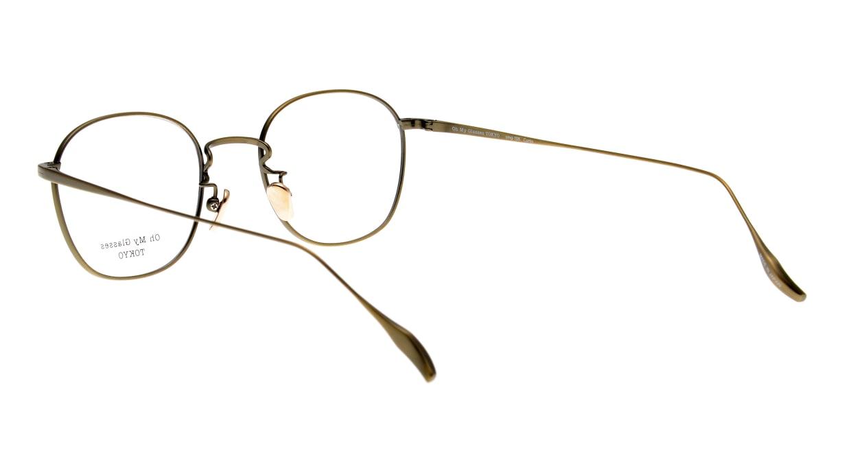 Oh My Glasses TOKYO Curtis omg106-ATG-47 [メタル/鯖江産/ウェリントン/ゴールド]  3