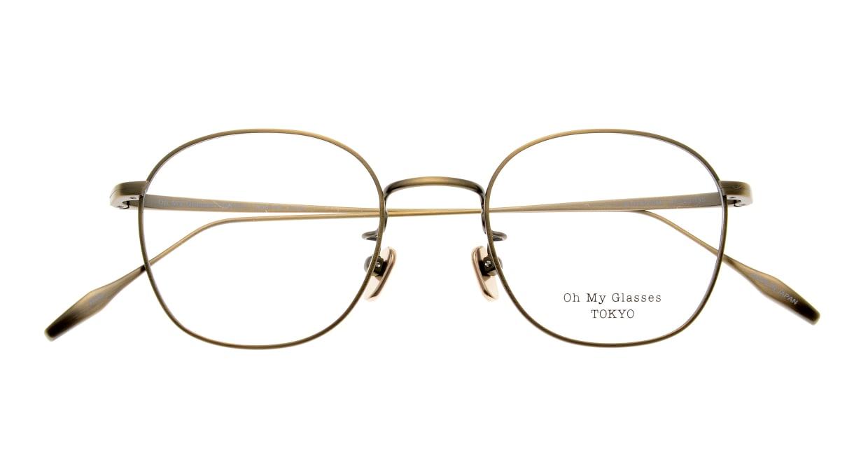 Oh My Glasses TOKYO Curtis omg106-ATG-47 [メタル/鯖江産/ウェリントン/ゴールド]  4