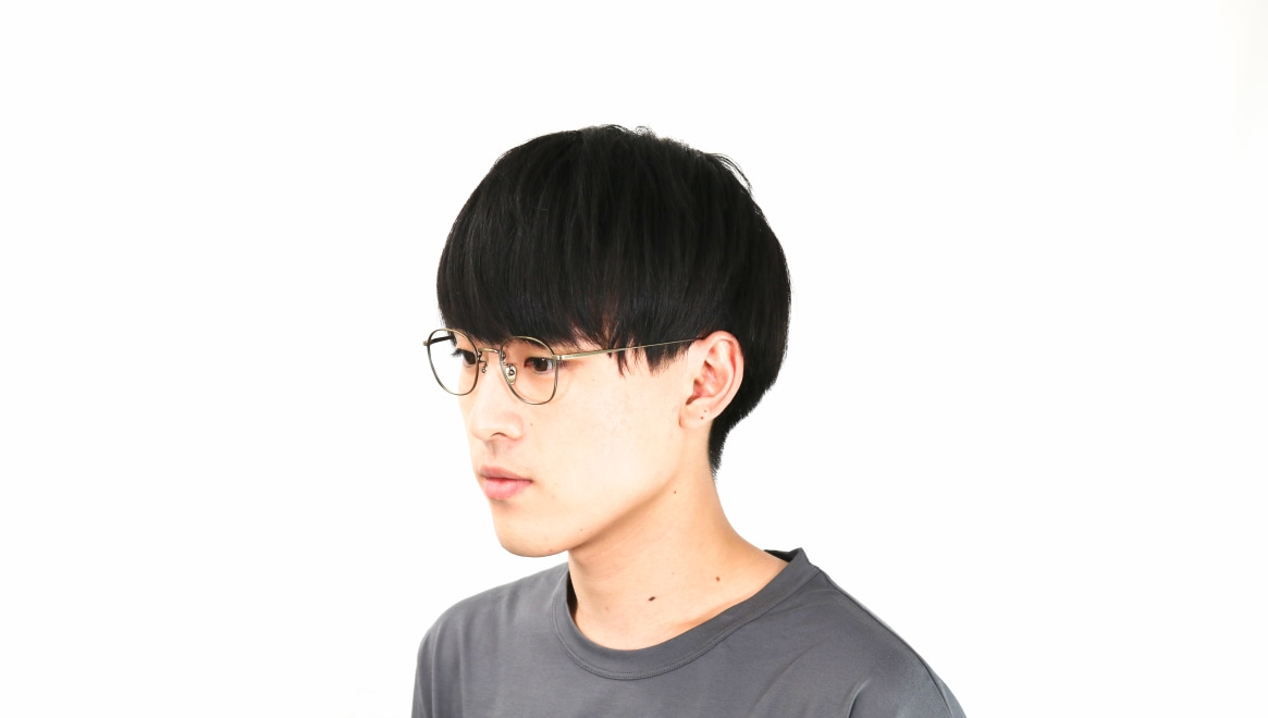 Oh My Glasses TOKYO Curtis omg106-ATG-47 [メタル/鯖江産/ウェリントン/ゴールド]  6
