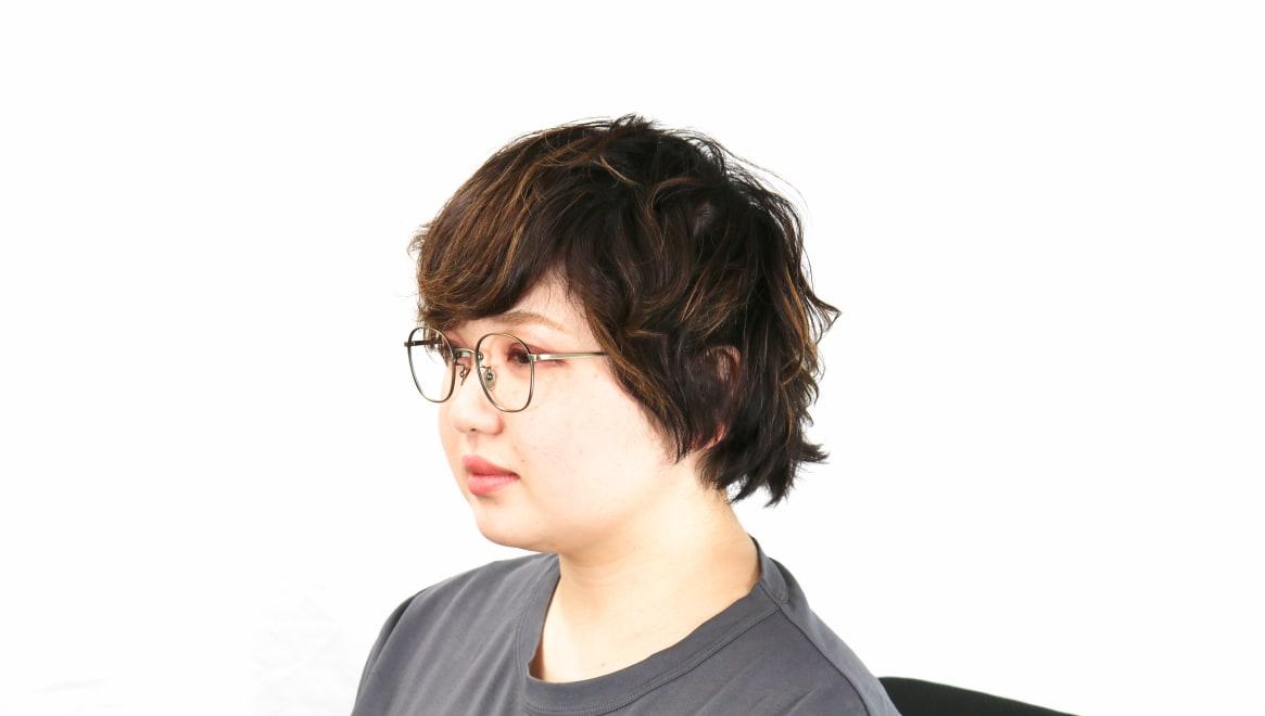 Oh My Glasses TOKYO Curtis omg106-ATG-47 [メタル/鯖江産/ウェリントン/ゴールド]  8