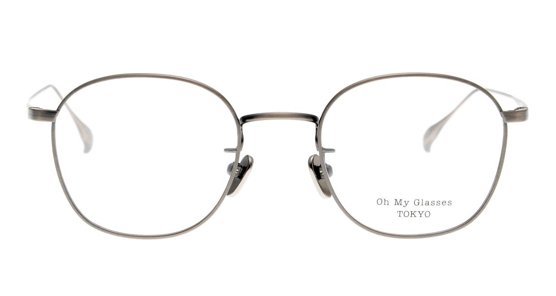 Oh My Glasses TOKYO Curtis omg106-ATS-47 [メタル/鯖江産/ウェリントン/シルバー]