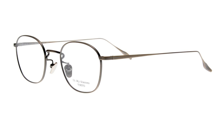 Oh My Glasses TOKYO Curtis omg106-ATS-47 [メタル/鯖江産/ウェリントン/シルバー]  1