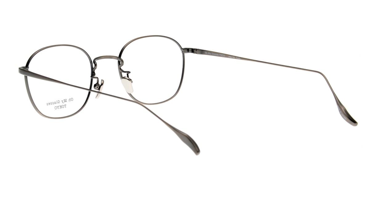 Oh My Glasses TOKYO Curtis omg106-ATS-47 [メタル/鯖江産/ウェリントン/シルバー]  3