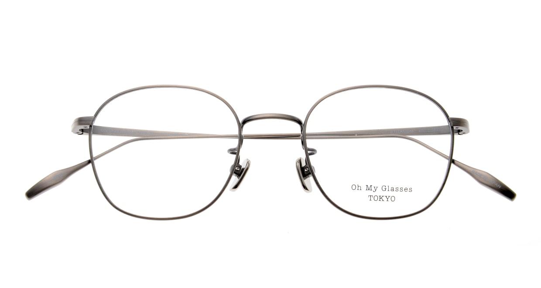 Oh My Glasses TOKYO Curtis omg106-ATS-47 [メタル/鯖江産/ウェリントン/シルバー]  4