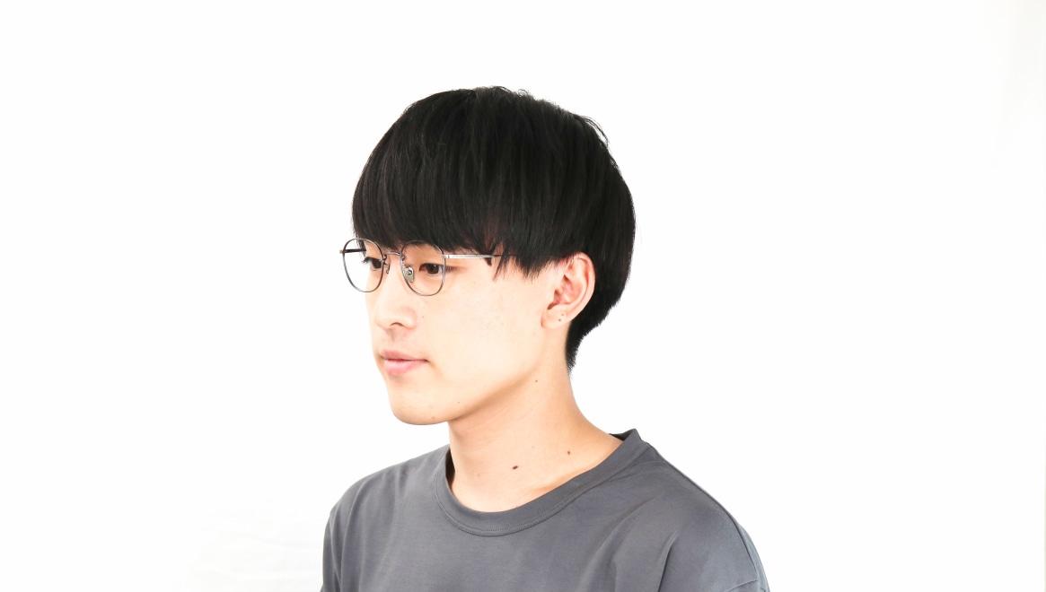 Oh My Glasses TOKYO Curtis omg106-ATS-47 [メタル/鯖江産/ウェリントン/シルバー]  6