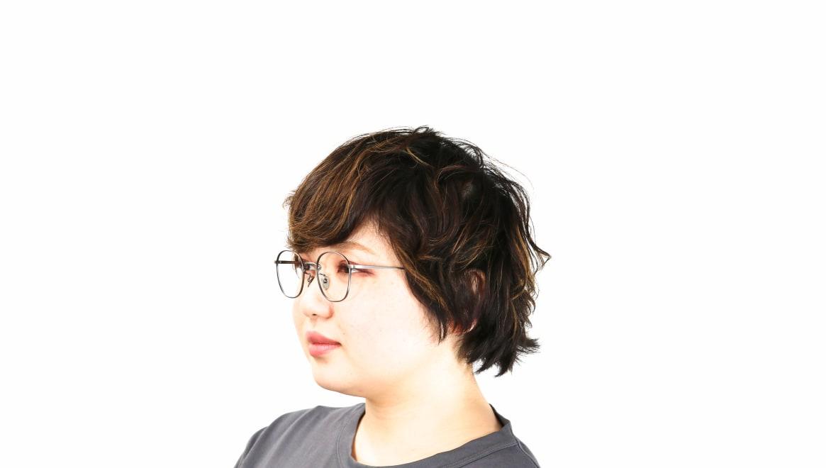 Oh My Glasses TOKYO Curtis omg106-ATS-47 [メタル/鯖江産/ウェリントン/シルバー]  8