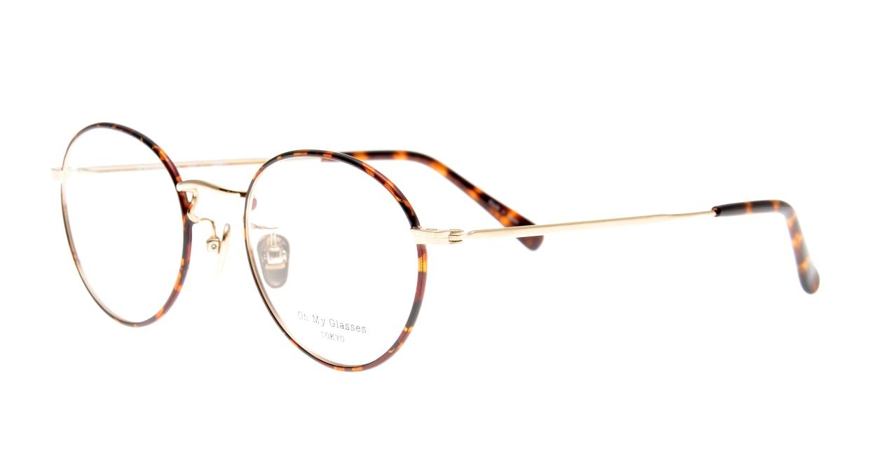 Oh My Glasses TOKYO George2 omg-110-DM-49 [メタル/鯖江産/丸メガネ/べっ甲柄]  1