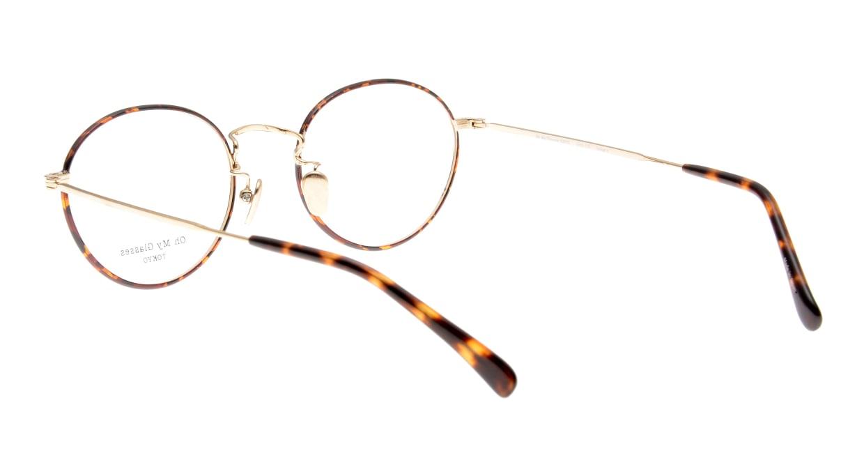 Oh My Glasses TOKYO George2 omg-110-DM-49 [メタル/鯖江産/丸メガネ/べっ甲柄]  3