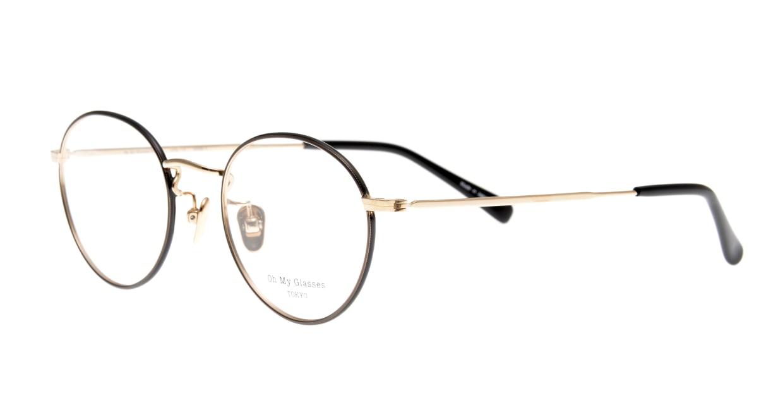 Oh My Glasses TOKYO George2 omg-110-BKG-49 [メタル/鯖江産/丸メガネ]  1