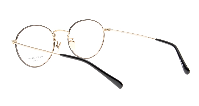Oh My Glasses TOKYO George2 omg-110-BKG-49 [メタル/鯖江産/丸メガネ]  3