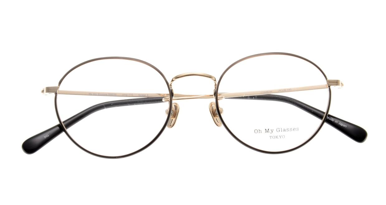 Oh My Glasses TOKYO George2 omg-110-BKG-49 [メタル/鯖江産/丸メガネ]  4