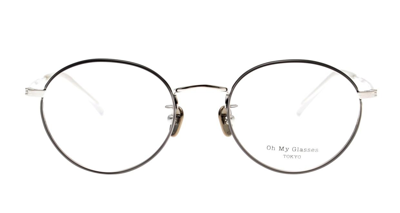 Oh My Glasses TOKYO George2 omg-110-BKS-49 [メタル/鯖江産/丸メガネ]