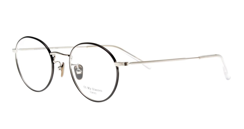 Oh My Glasses TOKYO George2 omg-110-BKS-49 [メタル/鯖江産/丸メガネ]  1
