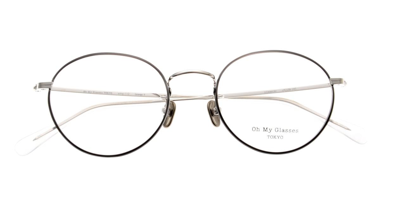 Oh My Glasses TOKYO George2 omg-110-BKS-49 [メタル/鯖江産/丸メガネ]  4